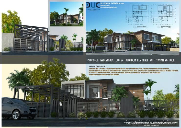 Villas by E.V.Casbadillo Arquitectura