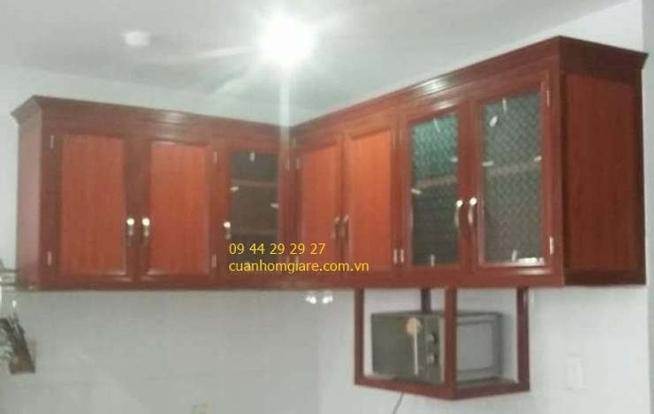 Đóng tủ bếp nhôm kính tại tphcm:   by NHÔM KÍNH TIẾN CƯỜNG