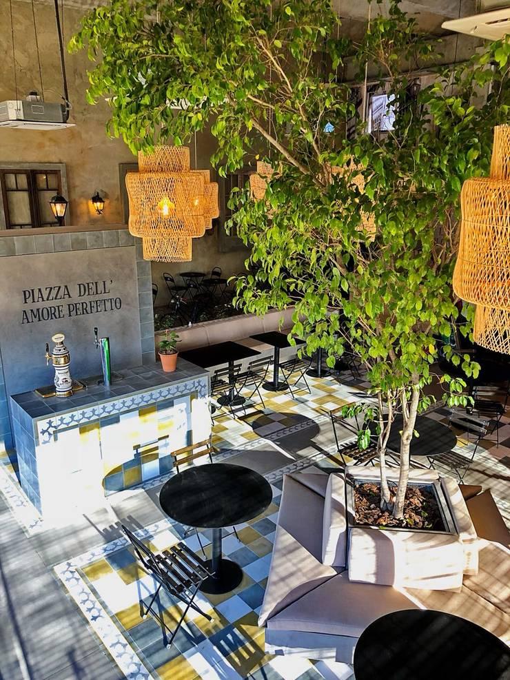 plaza italiana: Gastronomía de estilo  por María Florencia Funes