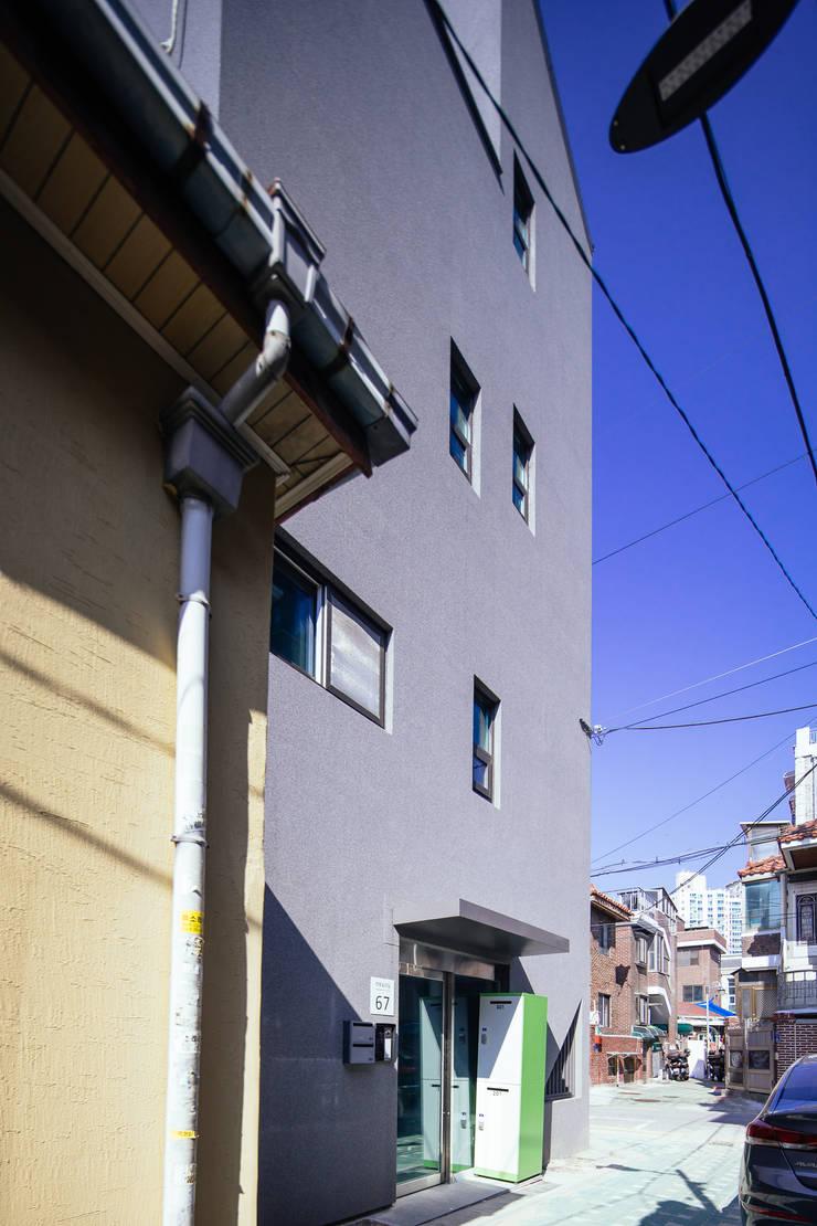 아늑_아늑: AAPA건축사사무소의  다가구 주택,모던