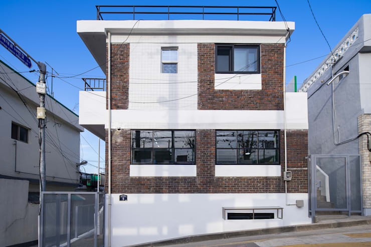배다리주택 '오붓': AAPA건축사사무소의  일세대용 주택