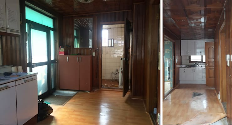 배다리주택 '오붓': AAPA건축사사무소의  ,