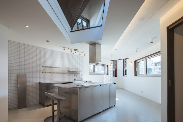 온기: AAPA건축사사무소의  주방