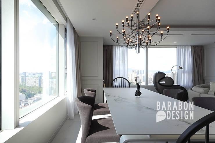 삼성동 아이파크 59평: 바라봄디자인의  다이닝 룸