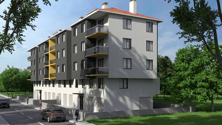 Dündar Design - 3D Mimari Görselleştirme – Apartman:  tarz Apartman