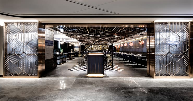 Cozi Lounge:  Bars & clubs by Artta Concept Studio, Modern