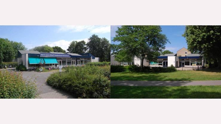 MODERNE BUNGALOWWONING IN VOORMALIGE SCHOOL:   door Tijmen Bos Architecten