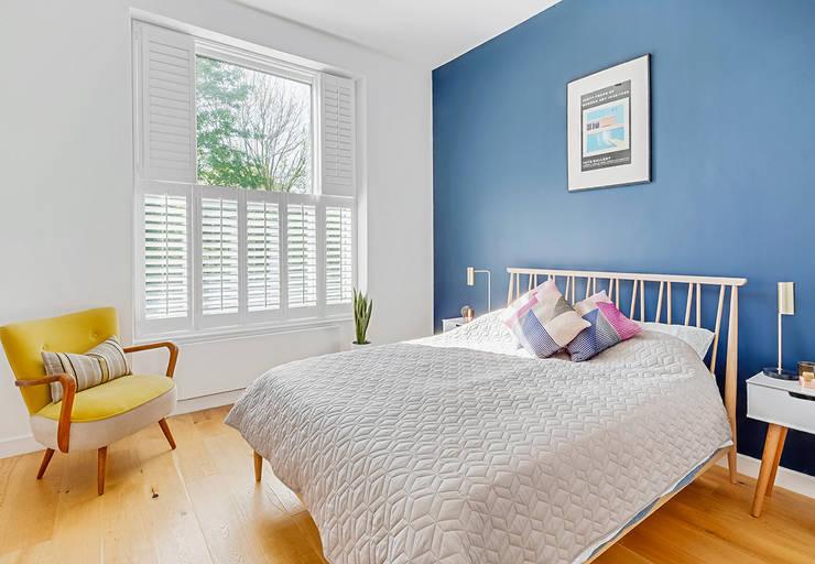 Tier On Shutters In The Bedroom By Plantation Ltd