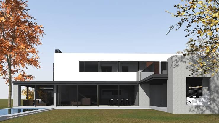 房子 by BM3 Arquitectos, 簡約風 水泥