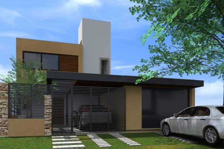 Remodelación fachada: Casas unifamiliares de estilo  por BM3 Arquitectos