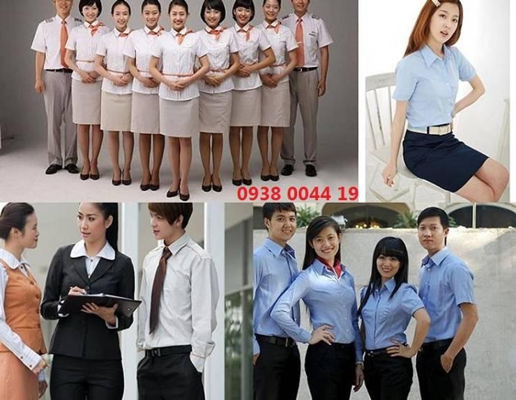 May ao so mi:   by Đồng phục Kiến Bách Á