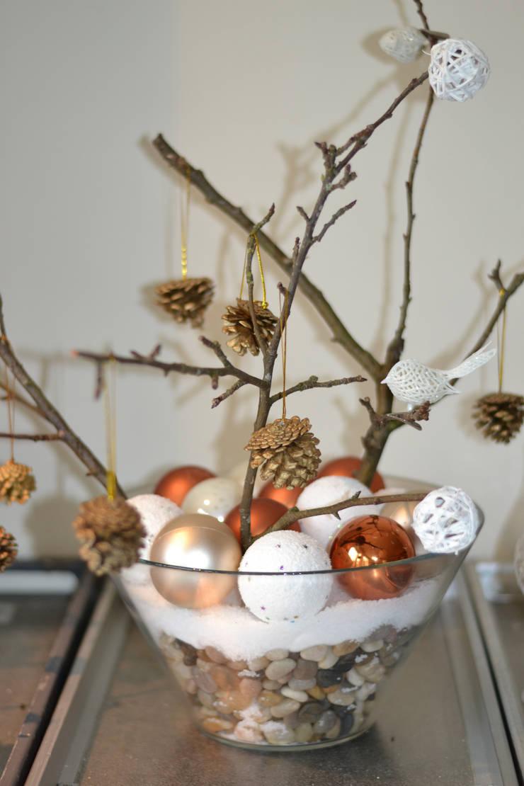 Winter decoration:  Woonkamer door ilsephilips