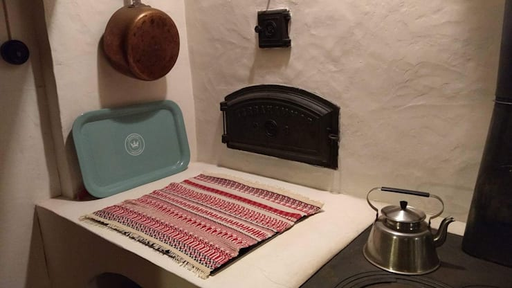 Sfeerfoto Handwoven Swedish table napkin:  Keuken door ilsephilips