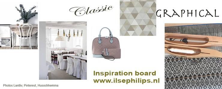 Inspiration board weaving 1:   door ilsephilips