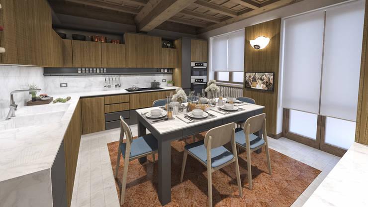 Rifacimento Cucina a Mantova by studiosagitair | homify