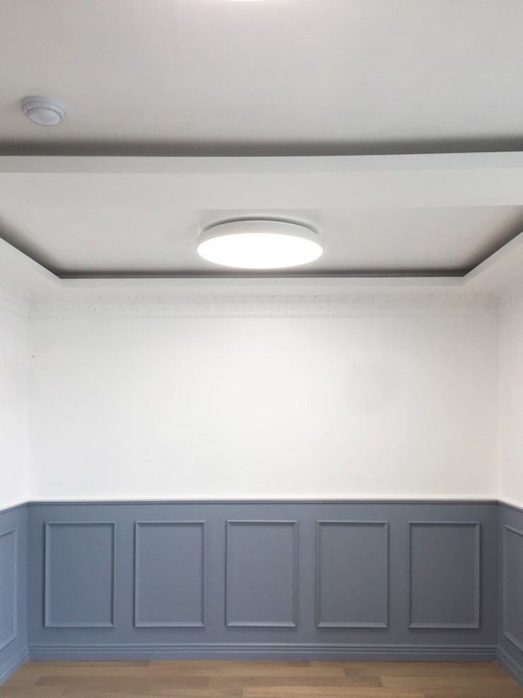분당 탑마을 18평: 덴보드의  방,모던
