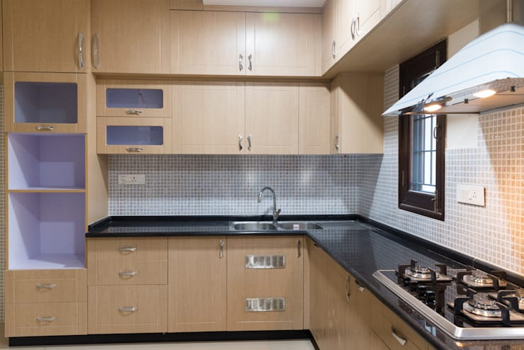 Anil DP: modern Kitchen by Designasm Studio