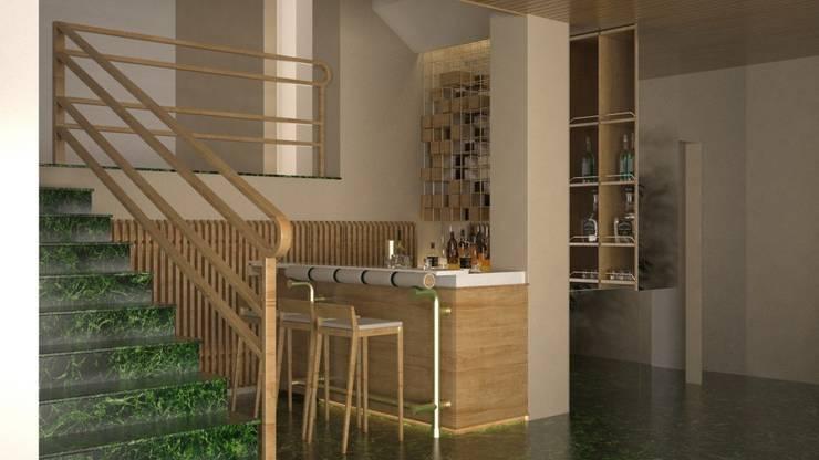 Adecuación espacio despues:  de estilo  por Mimesis Arquitectura y diseño