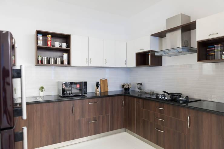 Durga Petals 301: modern Kitchen by Designasm Studio