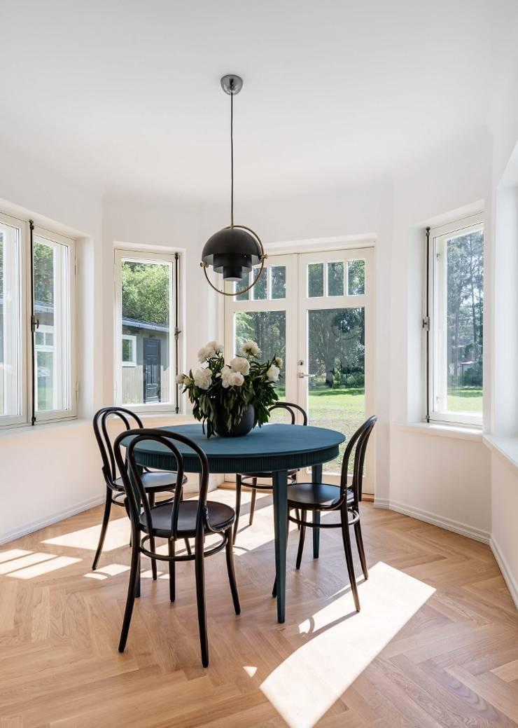 ห้องทานข้าว โดย Baltic Design Shop, สแกนดิเนเวียน ไม้ Wood effect