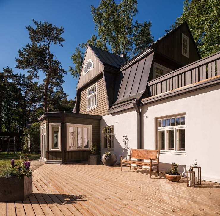 บ้านเดี่ยว โดย Baltic Design Shop, สแกนดิเนเวียน ไม้ Wood effect