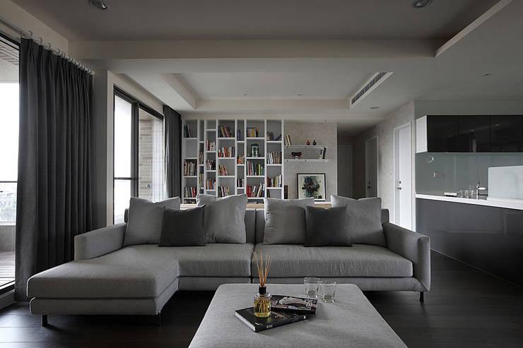 建築與詩小檔:  臥室 by 台中室內設計-築采設計