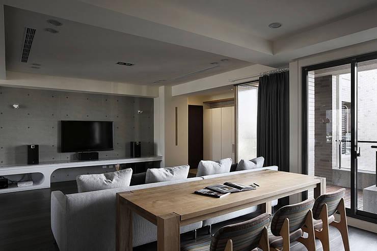 建築與詩小檔:  餐廳 by 台中室內設計-築采設計