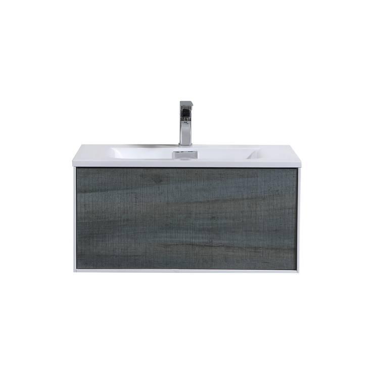 """DIVARIO WALL MOUNT - 30"""" - Ocean Gray - SKU: D30BE: modern Bathroom by KubeBath"""