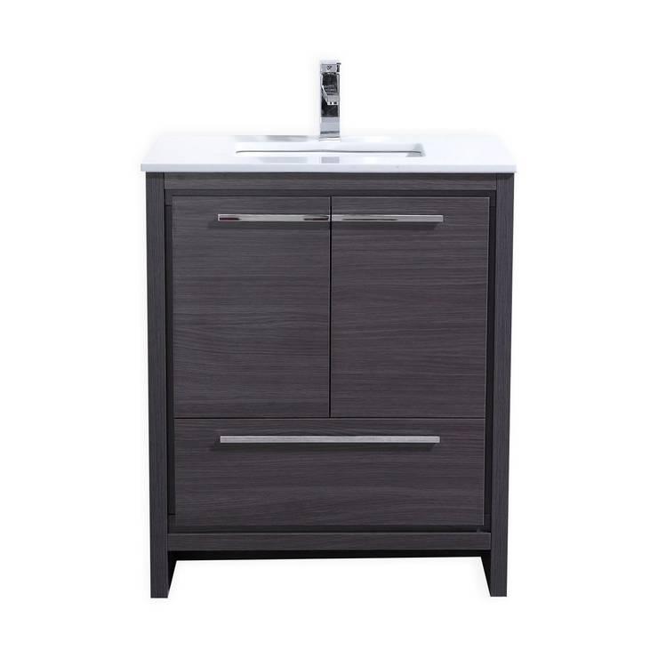 DOLCE - 30″ - GRAY OAK  - SKU: AD630WB:  Bathroom by KubeBath