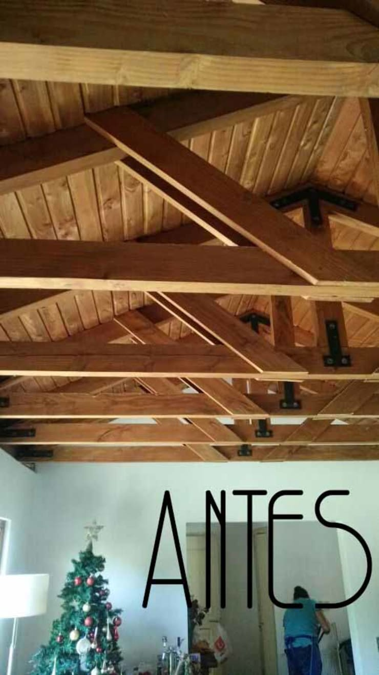 Living Familiar:  de estilo  por Kaa Interior | Arquitectura de Interior | Santiago