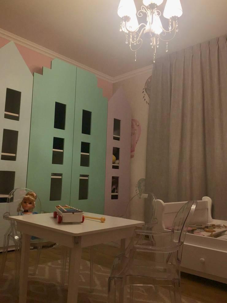 Habitación Niñas: Dormitorios de niñas de estilo  por Kaa Interior | Arquitectura de Interior | Santiago