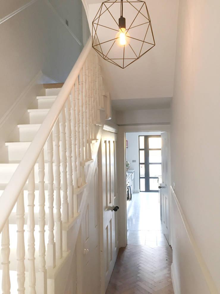 North West London Terraced House:  Stairs by VORBILD Architecture Ltd.