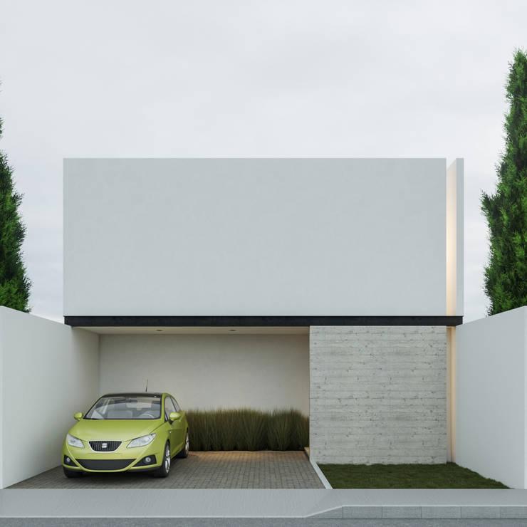 Fachada Principal: Casas de estilo  por Ki-Wi
