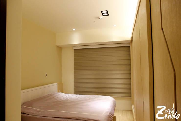 北歐‧小清新:  臥室 by Zendo 深度空間設計