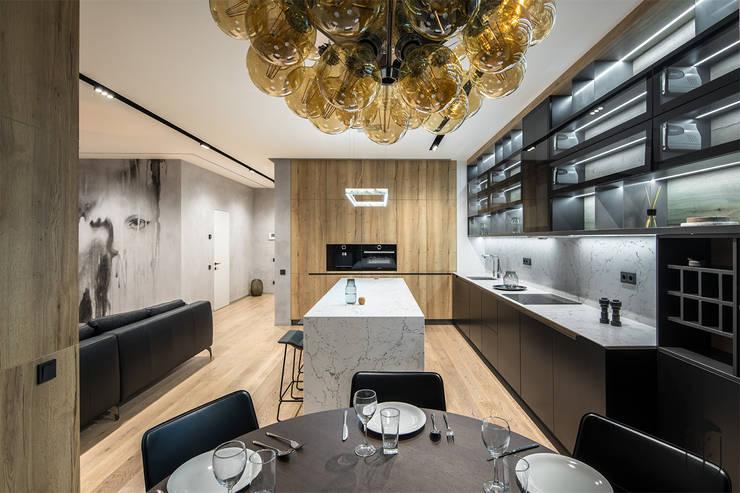 Projekty,  Kuchnia zaprojektowane przez U-Style design studio