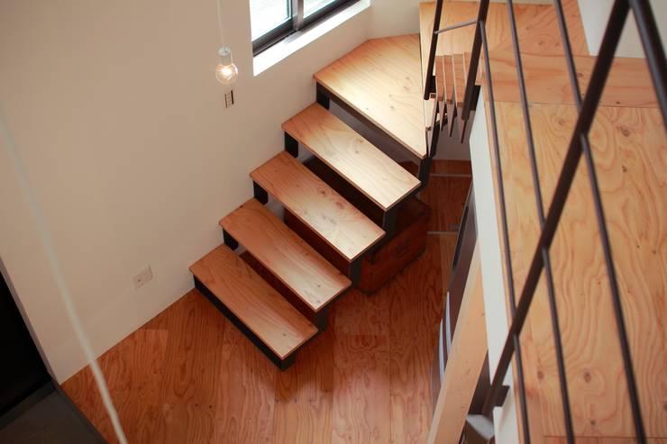 一級建築士事務所 Coo Planning의  계단