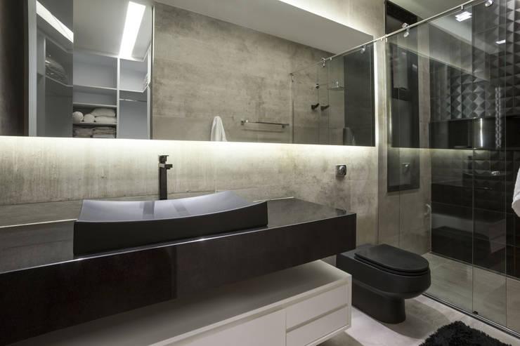 Rosset Arquitetura:  tarz Banyo