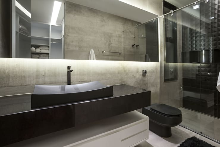 Baños de estilo  por Rosset Arquitetura