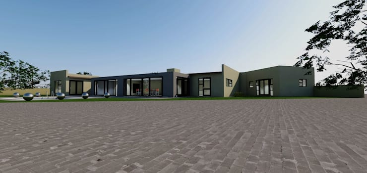 FOURWAYS PROJECT: modern  by MNM MULTI PROJECTS , Modern