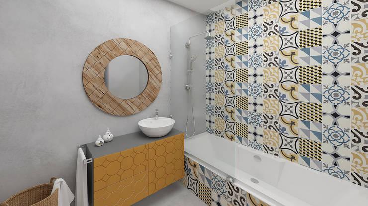 Bathroom: Casas de banho modernas por No Place Like Home ®