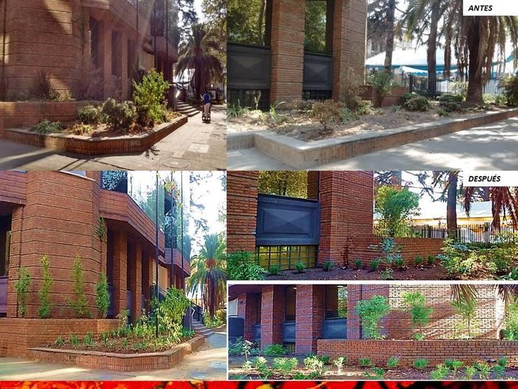 PAISAJISMO DISEÑO DE JARDINES: Jardines de estilo  por HZ ARQUITECTOS