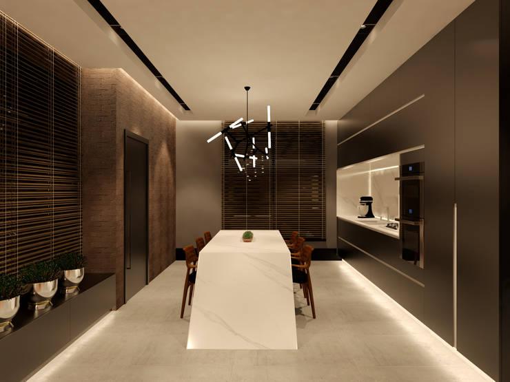 Küche von Studio Diego Duracenski Interiores, Modern