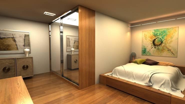 Next Container – Next Container - Jumbo Mix Villa 2 : modern tarz Yatak Odası