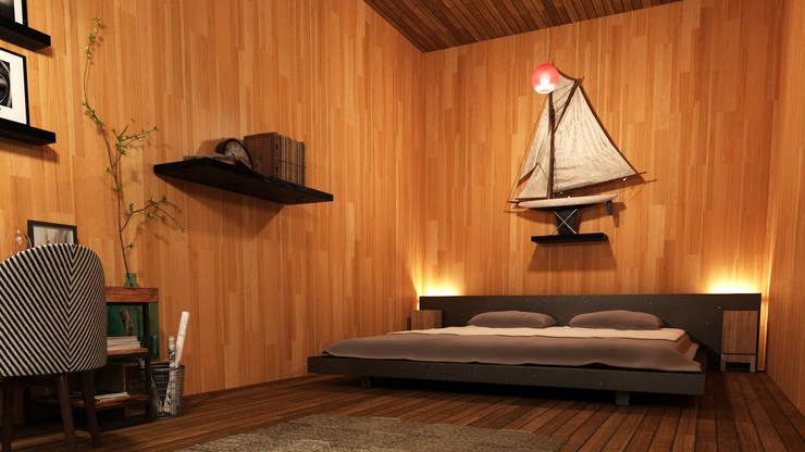 Next Container – Next Container - Mountain 60:  tarz Yatak Odası