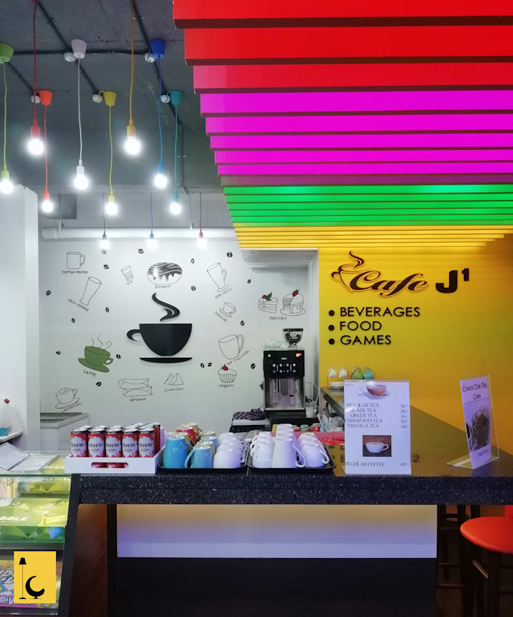 Cafe J1:  Office spaces & stores  by Indoor Concepts