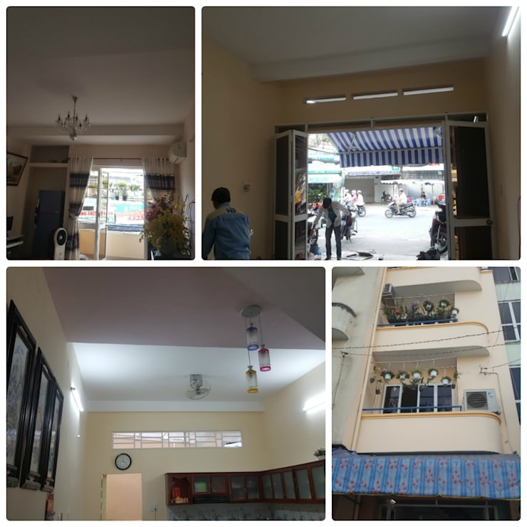 Dining room by Công ty TNHH sửa chữa nhà phố trọn gói An Phú 0911.120.739