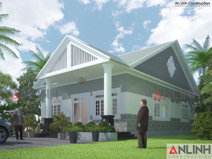 Công trình nhà ở  – NGUYỄN THỊ KIM NGỌC:   by CÔNG TY THIẾT KẾ XÂY DỰNG AN LĨNH