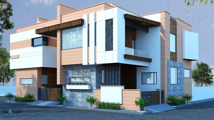 Upcoming Residence in Jodhpur: modern  by RAVI - NUPUR ARCHITECTS,Modern