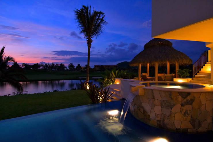 von foto de arquitectura Tropisch Fliesen
