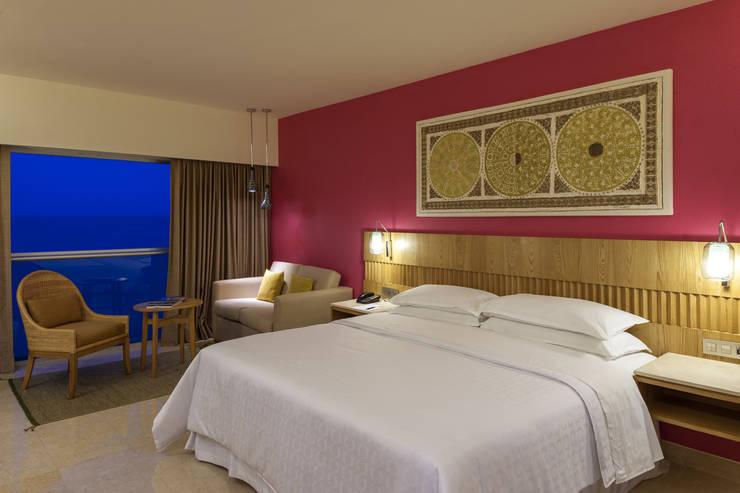 Tropische Schlafzimmer von foto de arquitectura Tropisch Beton